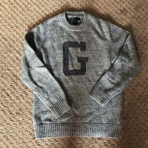GAP Boys varsity crewneck sweater